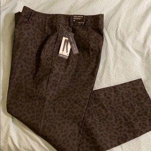 Cheetah Print Ankle Pants